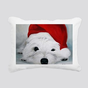 Bah Humbug! Rectangular Canvas Pillow